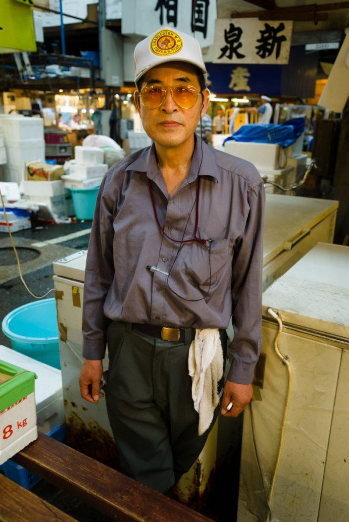 Tsukiji Fish Market in Tokyo